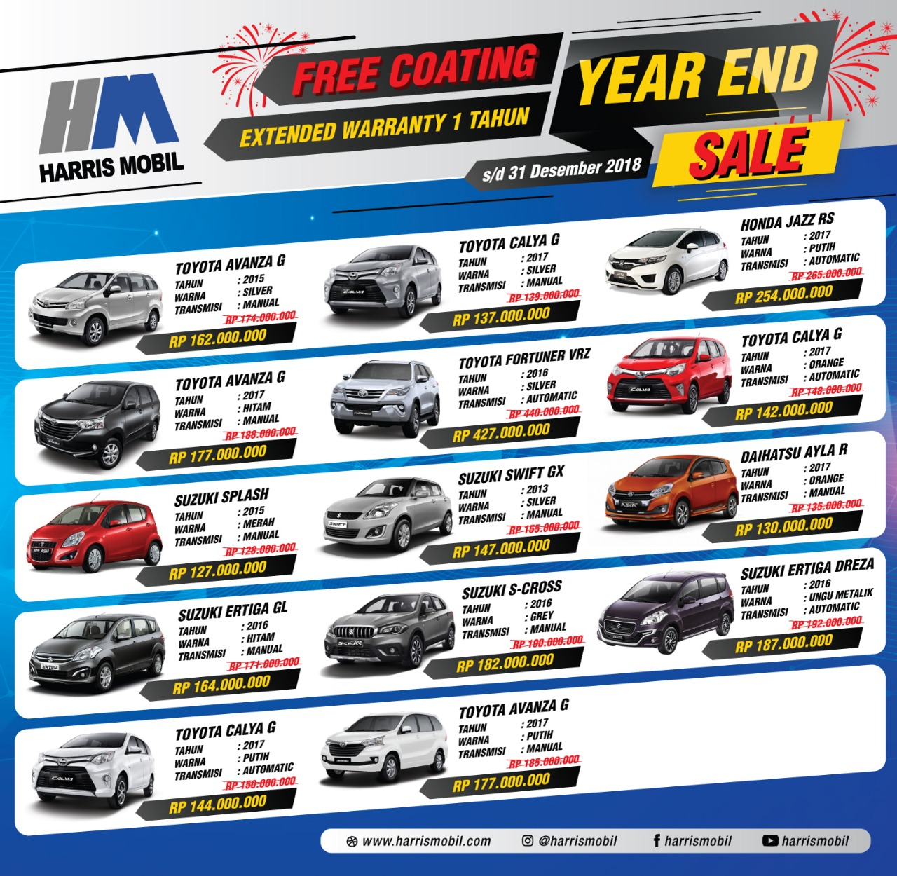 Year End Sale 2018